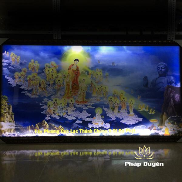 Tranh Trang Trí, Tranh Điện Phật Giáo